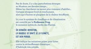 La folle boussole du Professeur Frog - Jeu de piste au Jardin des plantes - Muséum d'histoire naturelle