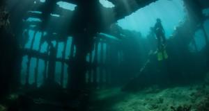 Epave sous-marine - Plongeur - Plongée