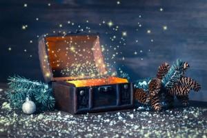 Noël coffre trésor