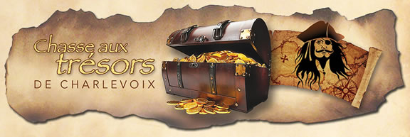 Chasse aux trésors de Charlevoix