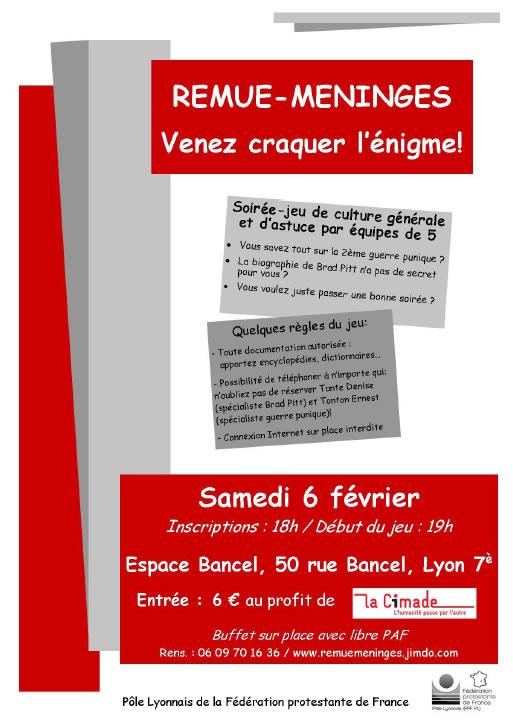 Remue-méninges – Venez craquer l'énigme à Lyon