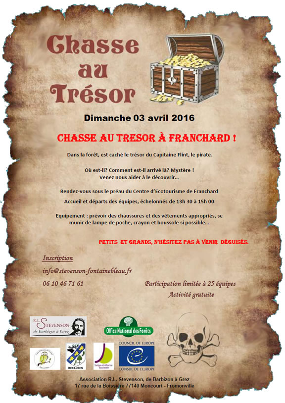 Chasse au trésor à Franchard