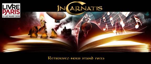 InCarnatis au Salon du Livre de Paris