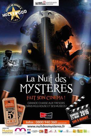 Mulhouse : la Nuit des Mystères fait son cinéma !