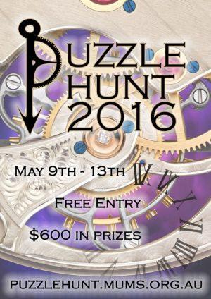 MUMS Puzzle Hunt 2016