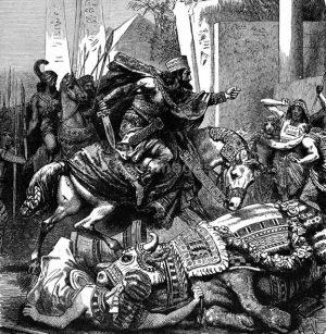 L'Armée de Cambyse II et son trésor