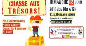 Chasse aux trésors à Nîmes - Secours Populaire français