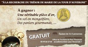 A la recherche du trésor de Marie de la Tour d'Auvergne