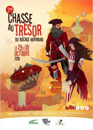 Deuxième chasse au trésor du bocage normand - 2016