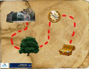 Le Centre d'Information sur les Institutions Européennes propose une chasse au trésor