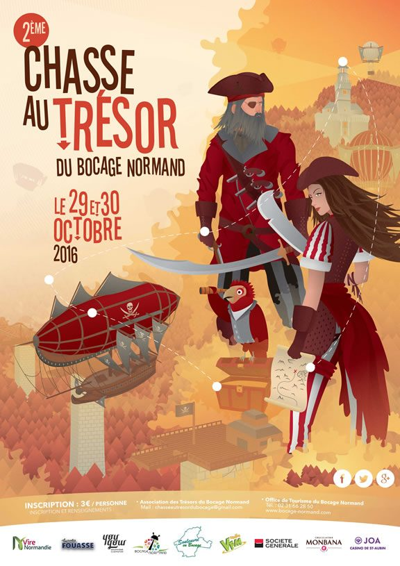 Deuxième chasse au trésor du bocage normand