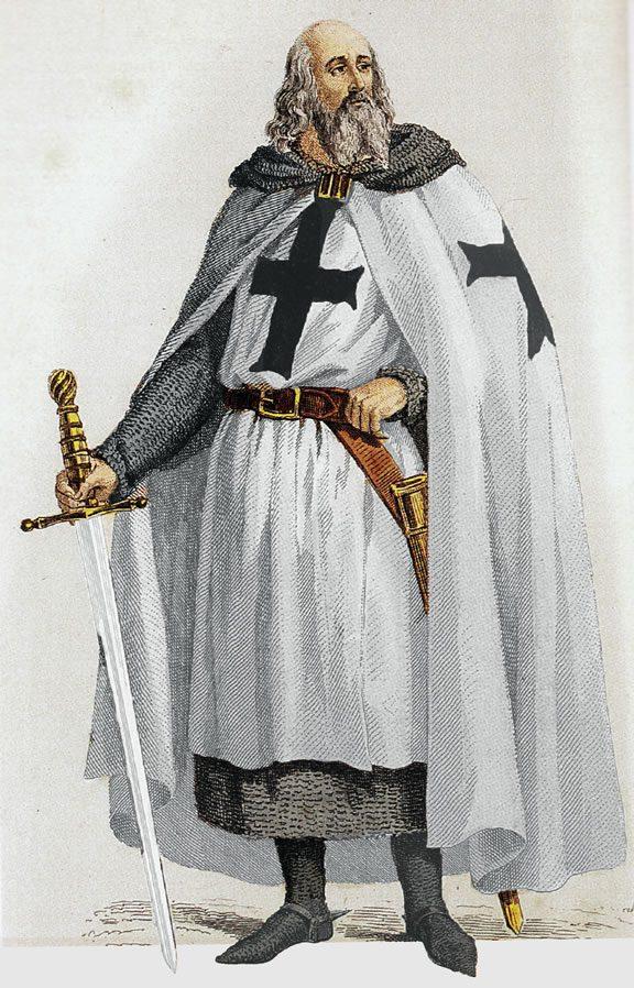 Jacques de Molay - Source : Dominique Jongbloed
