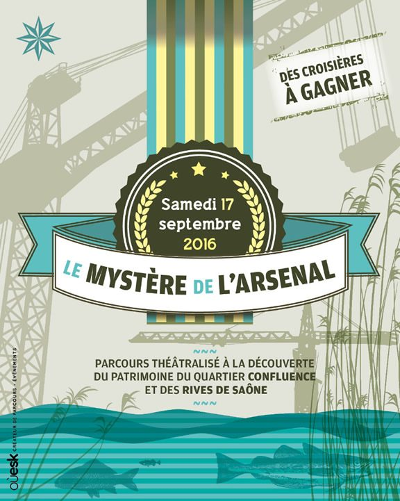 Lyon Confluence - Le Mystère de l'Arsenal