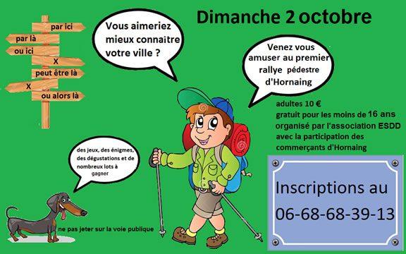 Hornaing : rallye touristique pédestre