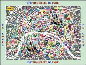 Une traversée de Paris - Chasse au trésor