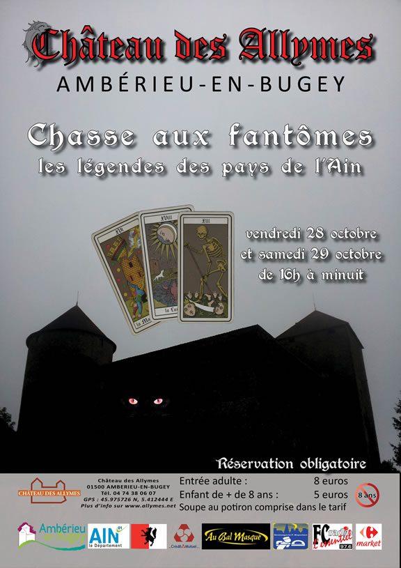 Chasse aux fantômes - Légendes des pays de l'Ain - Château des Allymes