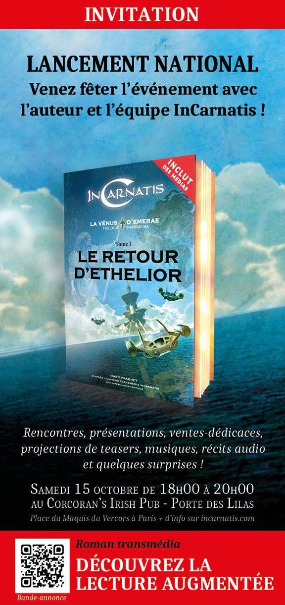 Lancement du roman transmédia InCarnatis