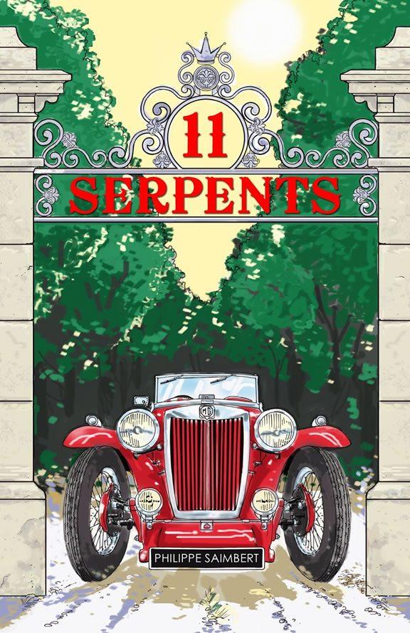 11 serpents - Philippe Saimbert