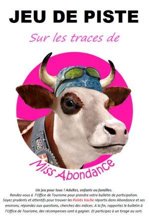 Jeu de piste - Sur les traces de Miss Abondance - dans le village d'Abondance
