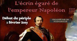 L'écrin égaré de l'empereur Napoléon III – Chasse au trésor