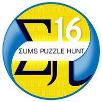 Σums Puzzle Hunt 2016 - La chasse au trésor