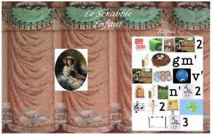 L'écrin égaré de l'empereur Napoléon III - Exemple d'énigme enfant - Le scrabble