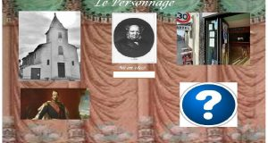 L'écrin égaré de l'empereur Napoléon III - Exemple d'énigme - Le personnage
