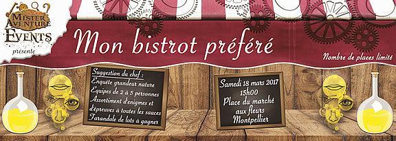 Montpellier - Enquête ludique - Mon bistrot préféré