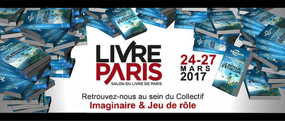 InCarnatis au salon Livre Paris 2017