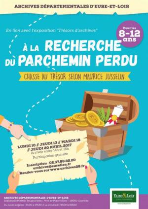 Chartres : à la recherche du parchemin perdu