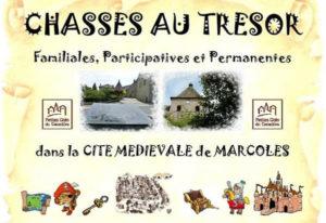 Chasses au trésor dans la cité médiévale de Marcoles