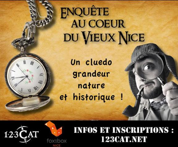 123 CAT - Enquête ludique à Nice