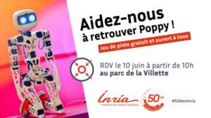 50 ans de l'Inria : retrouvez Poppy