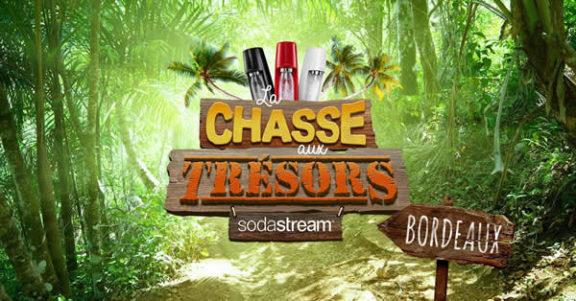 Les chasses aux trésors Sodastream