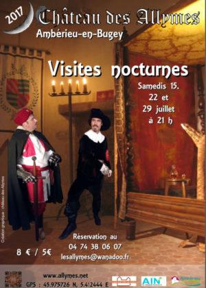 Visites-nocturnes au Château des Allymes - Eté 2017