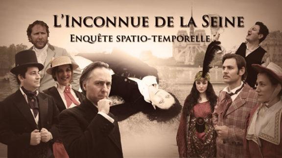 Apéro - Jeu de piste spatio-temporel - L'inconnue de la Seine