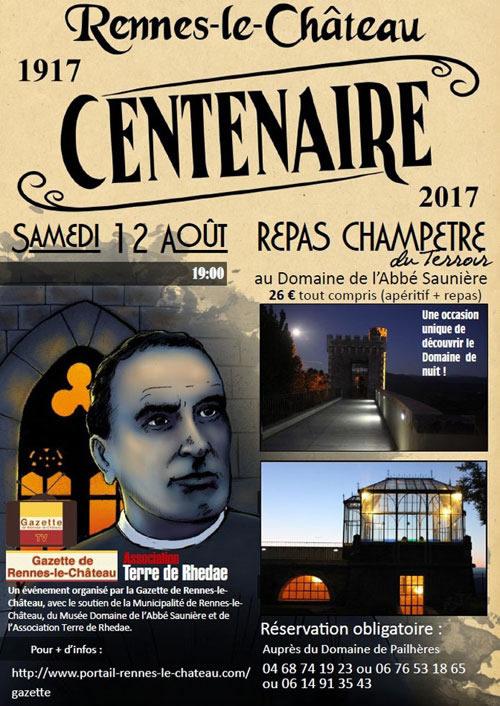 Rennes-le-Château : le centenaire de la mort de l'Abbé Saunière