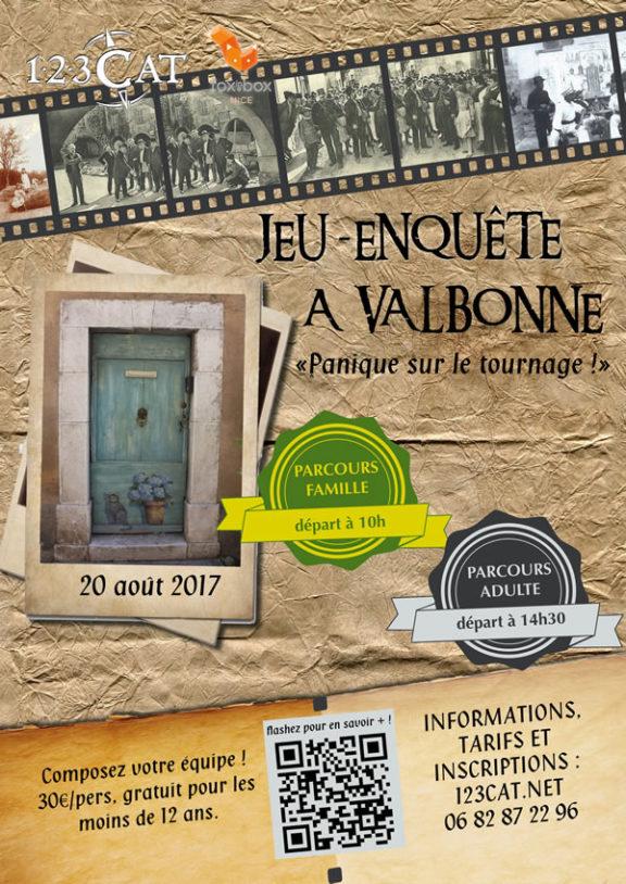 Jeu-enquête à Valbonne