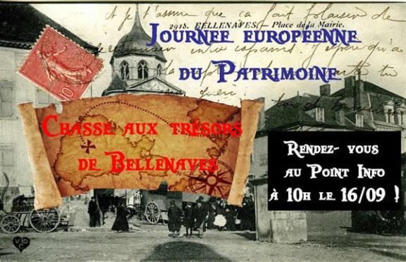 Chasse aux trésors à Bellenaves - Allier