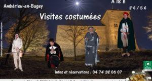 Visites costumées au Château des Allymes