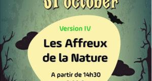 Jeu de piste d'halloween du Site de la Maison de l'Eau, à Neuvy-sur-Barangeon (Cher)