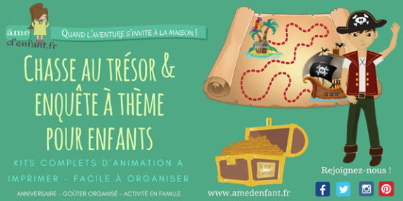 Chasses au trésor & enquêtes à thème - Ame d'enfant