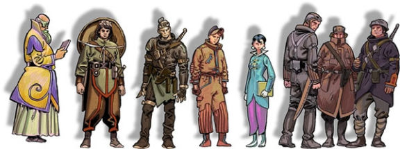 InCarnatis - Personnages