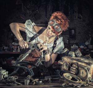 Travaux - Steampunk