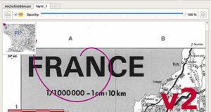 Gribouillot - Logiciel de cartographie pour chasse au trésor