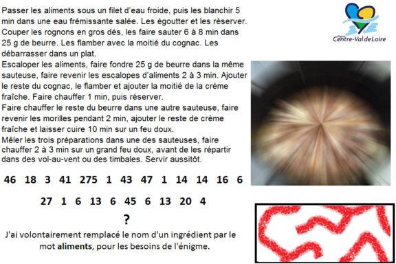 Centre-Val de Loire - Enigme 11 - Normandie - Enigme 10 - Les Saveurs de France