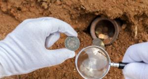 Monnaies anciennes - Fouilles