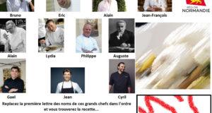 Normandie - Enigme 10 - Les Saveurs de France