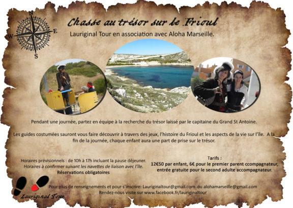 Chasse au trésor sur le Frioul - Marseille