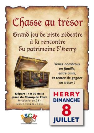 chasse au trésor à Herry (Cher)